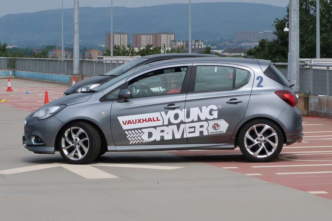 Young Driver Car