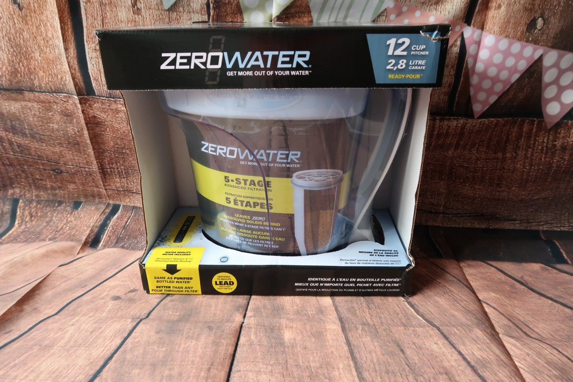 Zerowater Filter Jug Box