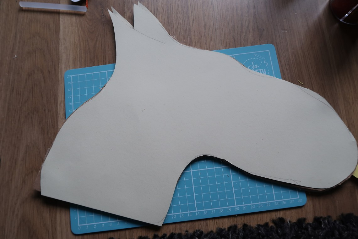 Draw and Cut out Head