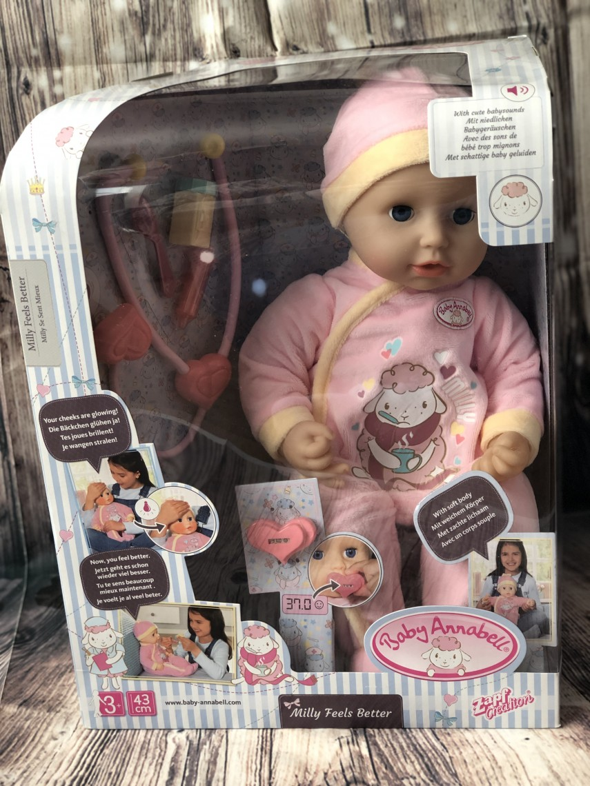 Baby Annabell Milly Feels Better Package