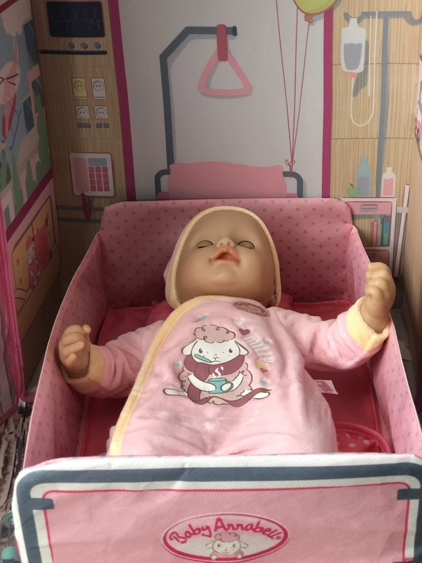 Baby Annabell Milly Feels Better And Hospital - Review