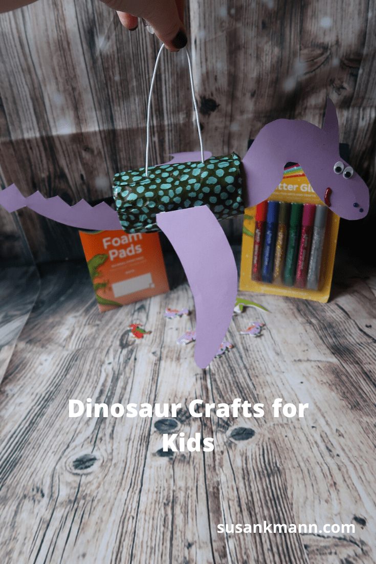 Dinosaur Crafts for Kids Pin