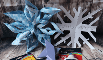 Frozen Inspired Crafts for kids pin