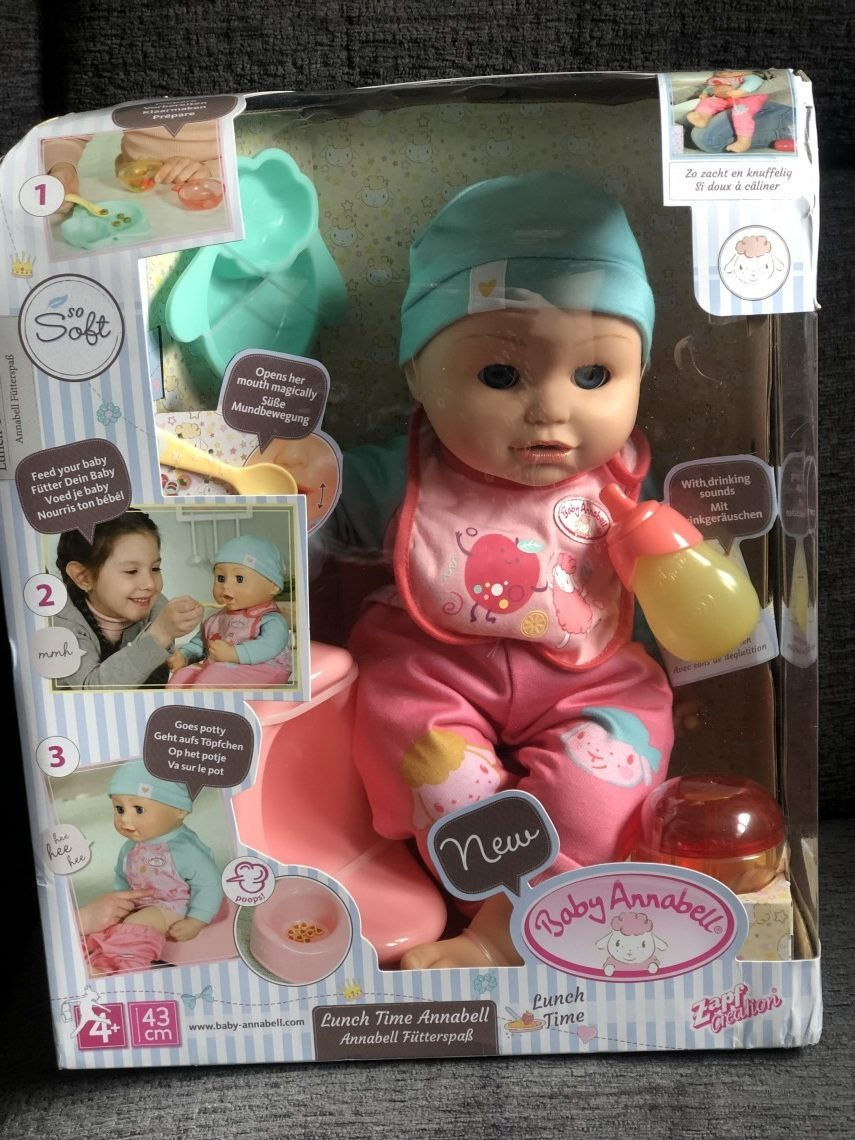 E: 14/10 Win a Baby Annabell Lunch Time Doll (RC ...